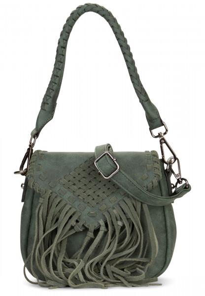 EMILY & NOAH Handtasche mit Überschlag Samantha Grün 61733930 green 930