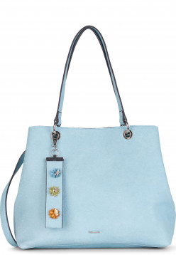 Tamaris Shopper Arabella mittel Blau 30174530 lightblue 530