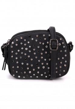 merch mashiah Handtasche mit Reißverschluss Marilyn Schwarz 80001100-1790 black 100