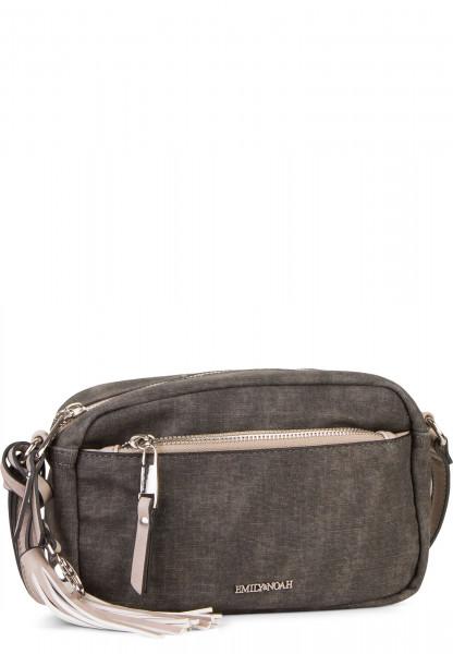 EMILY & NOAH Handtasche mit Reißverschluss Laura klein Schwarz 62000100 black 100