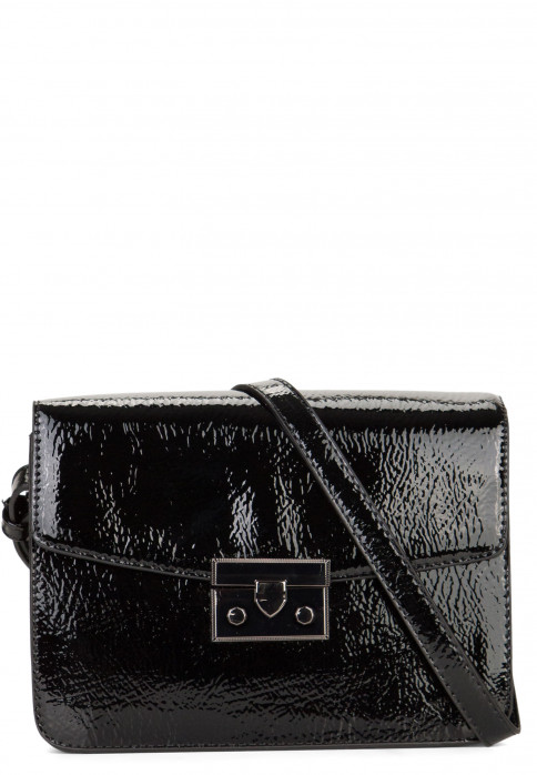 EMILY & NOAH Handtasche mit Überschlag Susi Schwarz 61812100 black 100