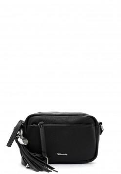 Tamaris Handtasche mit Reißverschluss Adele klein Schwarz 30472100 black 100