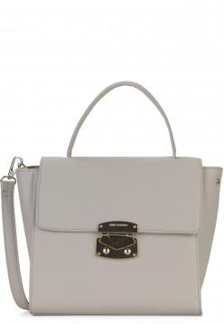 EMILY & NOAH Handtasche mit Überschlag Luca mittel Grau 62182810 lightgrey 810