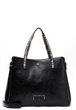 EMILY & NOAH Shopper Desiree mittel Schwarz 62466100 black 100