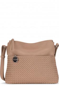 Tamaris Handtasche mit Reißverschluss Amber mittel Beige 30431420 sand 420