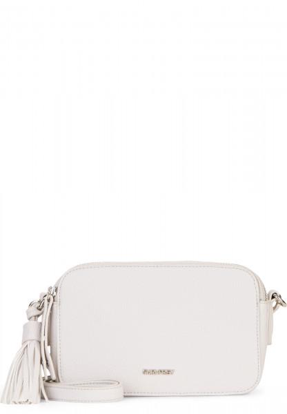 SURI FREY Handtasche mit Reißverschluss Patsy klein Grau 12270320 ecru 320