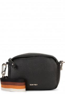 SURI FREY Handtasche mit Reißverschluss Bessy klein Schwarz 12381100 black 100