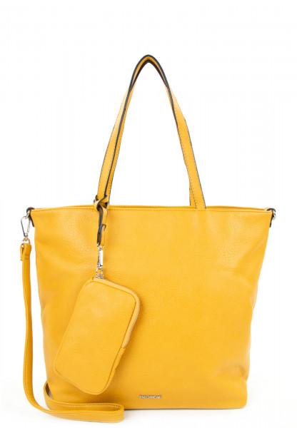 EMILY & NOAH Shopper Bag in Bag Surprise mittel Gelb 311460 yellow 460