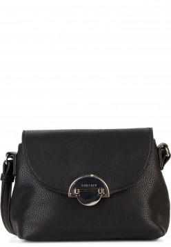 SURI FREY Handtasche mit Überschlag Naency klein Schwarz 12311100 black 100