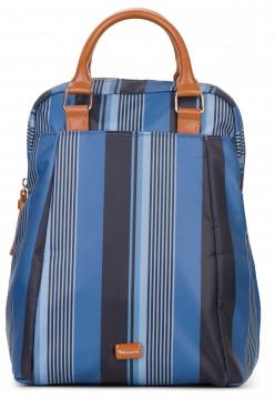 Tamaris Rucksack Anna groß Blau 30506591 blue-stripes 591