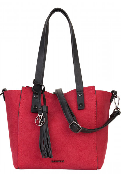 EMILY & NOAH Shopper Bag in Bag Surprise Rot 460600 red 600