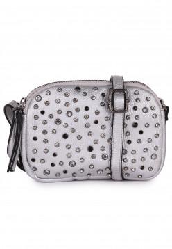 merch mashiah Handtasche mit Reißverschluss Marilyn Silber 80001830-1790 silver 830