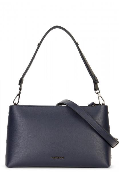 EMILY & NOAH Handtasche mit Reißverschluss Sabrina Blau 61820500 blue 500