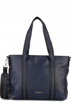 EMILY & NOAH Shopper Luna mittel Blau 62264500 blue 500