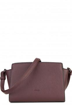 Sina Jo Handtasche mit Reißverschluss Jasmin klein Braun 610200 brown 200