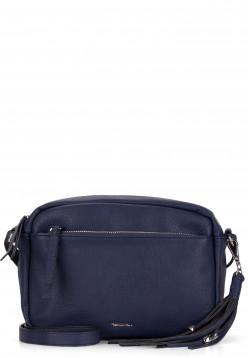 Tamaris Handtasche mit Reißverschluss Adele mittel Blau 30473500 blue 500