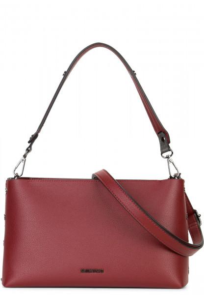 EMILY & NOAH Handtasche mit Reißverschluss Sabrina Rot 61820600 red 600