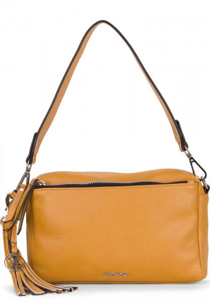 EMILY & NOAH Handtasche mit Reißverschluss Leonie mittel Gelb 62081460 yellow 460