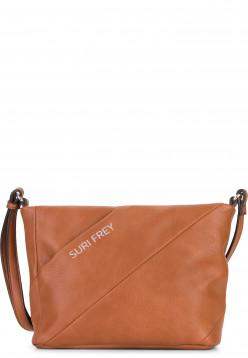 SURI FREY Handtasche mit Reißverschluss Mimmy klein Braun 12210700 cognac 700