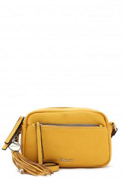 Tamaris Handtasche mit Reißverschluss Adele klein Gelb 30472460 yellow 460