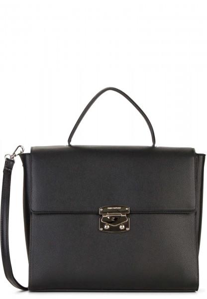 EMILY & NOAH Handtasche mit Überschlag Luca groß Schwarz 62183100 black 100
