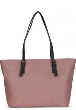 Sina Jo Shopper Jeanette groß Pink 613651H oldrose 651H