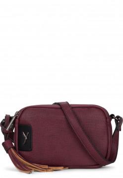 SURI FREY Handtasche mit Reißverschluss Mercy Rot 11980690 wine 690