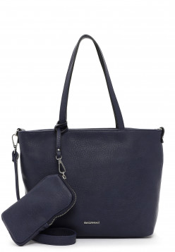 EMILY & NOAH Shopper Bag in Bag Surprise klein Blau 310500 blue 500