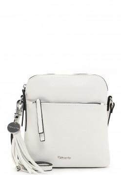 Tamaris Handtasche mit Reißverschluss Adele klein Weiß 30471300 white 300