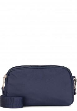 EMILY & NOAH Handtasche mit Reißverschluss Pina klein Blau 62270500 blue 500