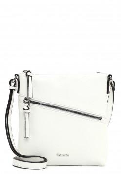 Tamaris Handtasche mit Reißverschluss Alessia groß Weiß 30443300 white 300