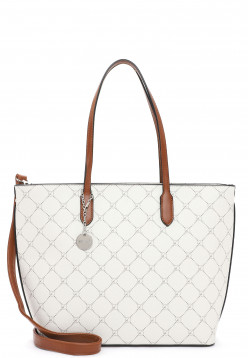 Tamaris Shopper Anastasia groß Grau 30107320 ecru 320