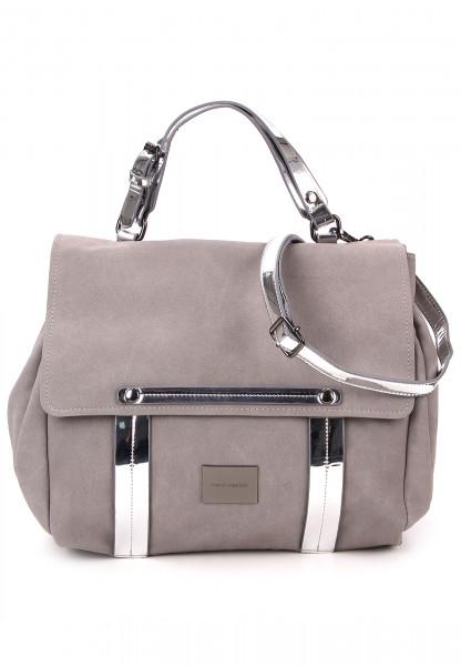 merch mashiah Handtasche mit Überschlag Marlene Grau 80141800-1790 grey 800