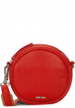 SURI FREY Handtasche mit Reißverschluss Bessy klein Rot 12380600 red 600