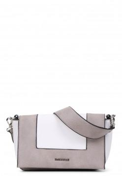 EMILY & NOAH Handtasche mit Überschlag Priska klein Beige 61630310 birke 310