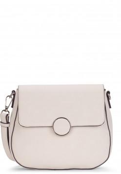 Tamaris Handtasche mit Überschlag Annika klein Grau 30134320 ecru 320