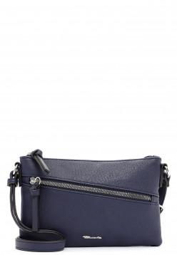 Tamaris Handtasche mit Reißverschluss Alessia klein Blau 30441500 blue 500