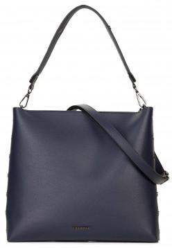 EMILY & NOAH Handtasche mit Reißverschluss Sabrina Blau 61821500 blue 500