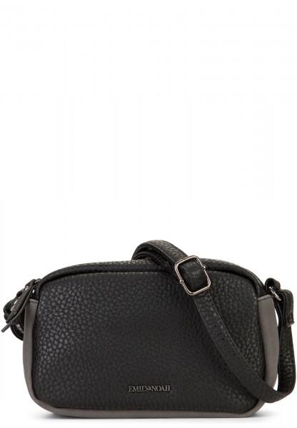 EMILY & NOAH Handtasche mit Reißverschluss Sue Schwarz 61950100 black 100