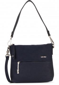 SURI FREY Handtasche mit Reißverschluss Romy Bevvy klein Blau 12170500 blue 500