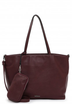 EMILY & NOAH Shopper Bag in Bag Surprise groß Rot 312690 wine 690