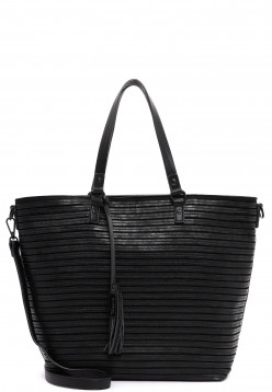 Tamaris Shopper Barbara groß Schwarz 30753100 black 100