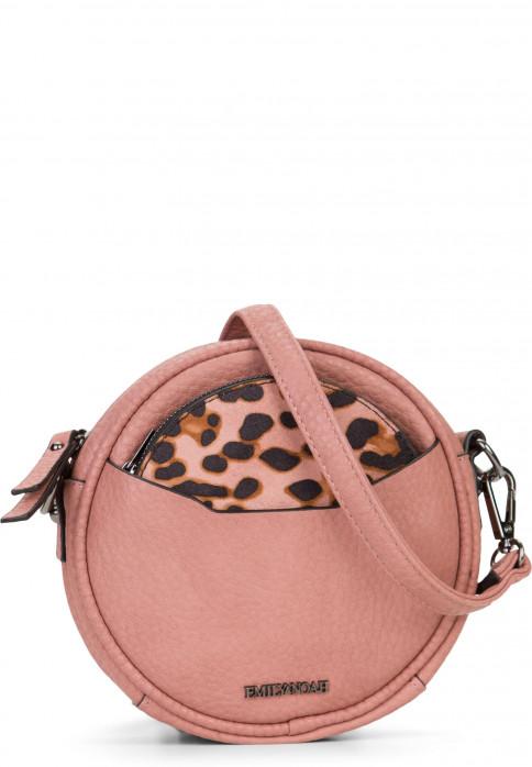 EMILY & NOAH Handtasche mit Reißverschluss Samira Pink 61830651 oldrose 651