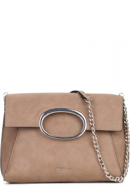 EMILY & NOAH Handtasche mit Überschlag Sarah Braun 61780900 taupe 900