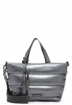 SURI FREY Shopper SURI Black Label Shelley klein Silber 16042833 darksilver 833