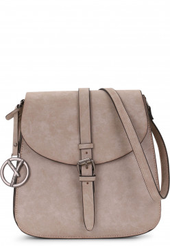 SURI FREY Handtasche mit Überschlag Nathaly hoch Beige 11731420 sand 420