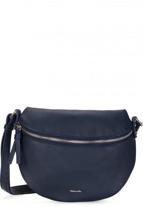 Tamaris Handtasche mit Überschlag Angela mittel Blau 30214500 blue 500