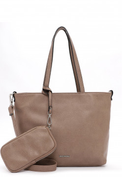 EMILY & NOAH Shopper Bag in Bag Surprise klein Braun 310900 taupe 900
