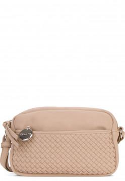 Tamaris Handtasche mit Reißverschluss Amber klein Beige 30430420 sand 420