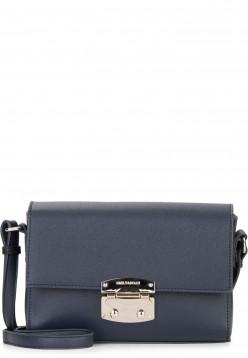 EMILY & NOAH Handtasche mit Überschlag Luca klein Blau 62181500 blue 500